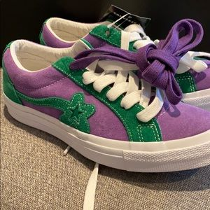 Tyler the creators purple converse size 7.5